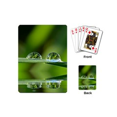 Waterdrops Playing Cards (mini)