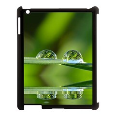 Waterdrops Apple Ipad 3/4 Case (black)