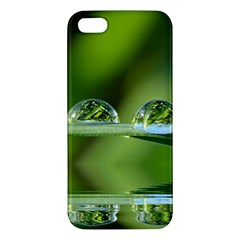 Waterdrops iPhone 5 Premium Hardshell Case