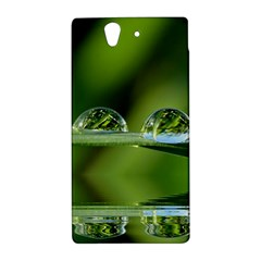 Waterdrops Sony Xperia Z L36H Hardshell Case