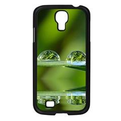 Waterdrops Samsung Galaxy S4 I9500/ I9505 Case (Black)