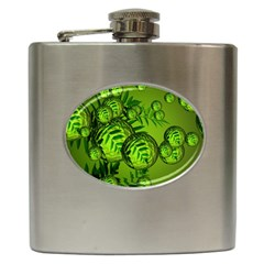 Magic Balls Hip Flask