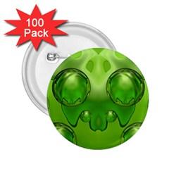 Magic Balls 2 25  Button (100 Pack)