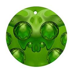 Magic Balls Round Ornament (Two Sides)