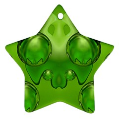 Magic Balls Star Ornament (Two Sides)