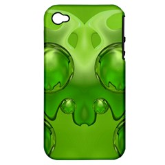 Magic Balls Apple iPhone 4/4S Hardshell Case (PC+Silicone)