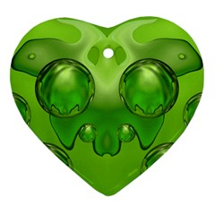 Magic Balls Heart Ornament (two Sides)