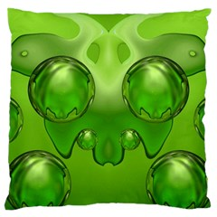 Magic Balls Large Cushion Case (two Sided)