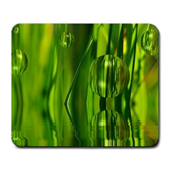 Green Bubbles  Large Mouse Pad (rectangle)