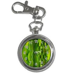 Green Bubbles  Key Chain & Watch