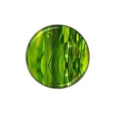 Green Bubbles  Golf Ball Marker 4 Pack (for Hat Clip)