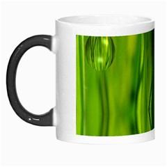 Green Bubbles  Morph Mug