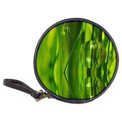 Green Bubbles  CD Wallet