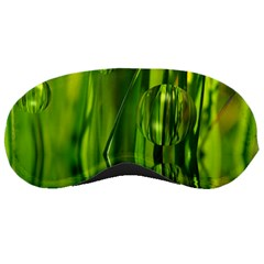 Green Bubbles  Sleeping Mask