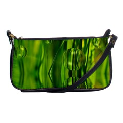 Green Bubbles  Evening Bag