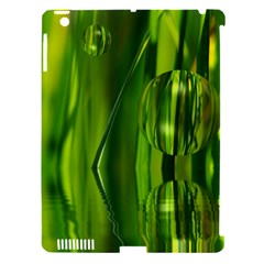 Green Bubbles  Apple iPad 3/4 Hardshell Case (Compatible with Smart Cover)