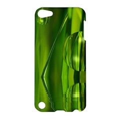 Green Bubbles  Apple iPod Touch 5 Hardshell Case