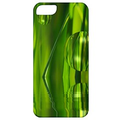 Green Bubbles  Apple iPhone 5 Classic Hardshell Case