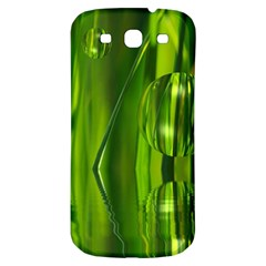 Green Bubbles  Samsung Galaxy S3 S III Classic Hardshell Back Case