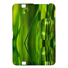 Green Bubbles  Kindle Fire HD 8.9  Hardshell Case