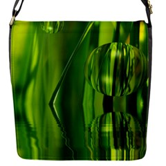 Green Bubbles  Removable Flap Cover (Small)