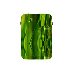 Green Bubbles  Apple iPad Mini Protective Soft Case