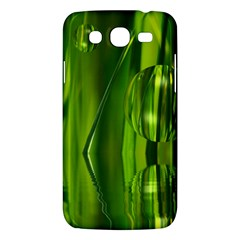 Green Bubbles  Samsung Galaxy Mega 5 8 I9152 Hardshell Case