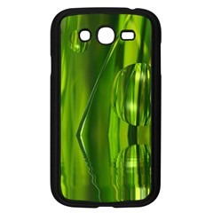 Green Bubbles  Samsung Galaxy Grand DUOS I9082 Case (Black)