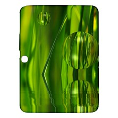 Green Bubbles  Samsung Galaxy Tab 3 (10.1 ) P5200 Hardshell Case