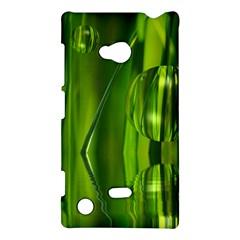 Green Bubbles  Nokia Lumia 720 Hardshell Case
