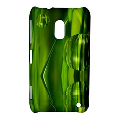 Green Bubbles  Nokia Lumia 620 Hardshell Case
