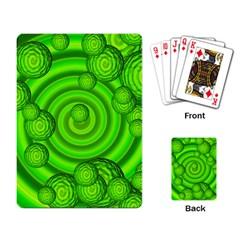 Magic Balls Playing Cards Single Design