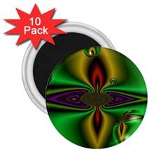Magic Balls 2 25  Button Magnet (10 Pack)