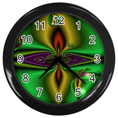 Magic Balls Wall Clock (Black)