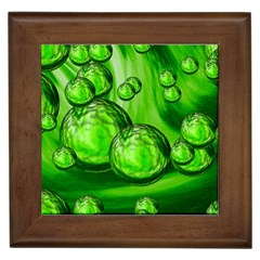 Magic Balls Framed Ceramic Tile