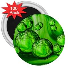 Magic Balls 3  Button Magnet (100 pack)