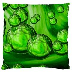Magic Balls Large Cushion Case (two Sided)