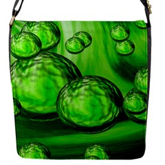 Magic Balls Flap Closure Messenger Bag (small)