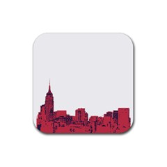 Skyline Drink Coasters 4 Pack (Square)