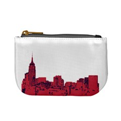 Skyline Coin Change Purse