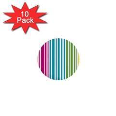 Color Fun 1  Mini Button (10 Pack)