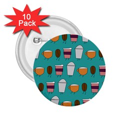 Time for coffee 2.25  Button (10 pack)