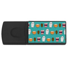 Time for coffee 4GB USB Flash Drive (Rectangle)
