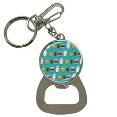 Time for coffee Bottle Opener Key Chain