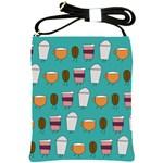 Time for coffee Shoulder Sling Bag Front