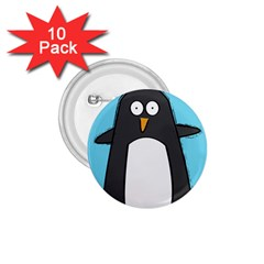 Hello Penguin 1.75  Button (10 pack)