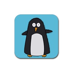Hello Penguin Drink Coasters 4 Pack (square)