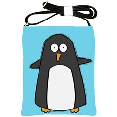 Hello Penguin Shoulder Sling Bag