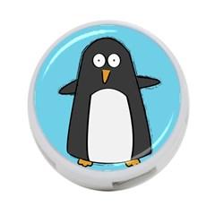 Hello Penguin 4 Port Usb Hub (one Side)