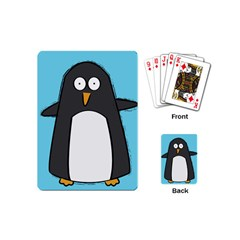 Hello Penguin Playing Cards (mini)